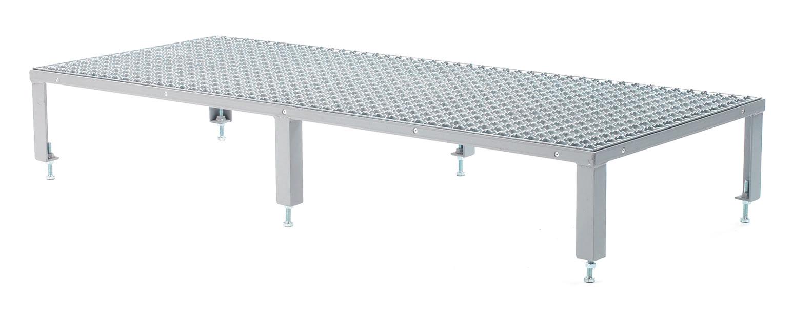 Fort Adjustable Steel Work Platforms Uk Manufactured