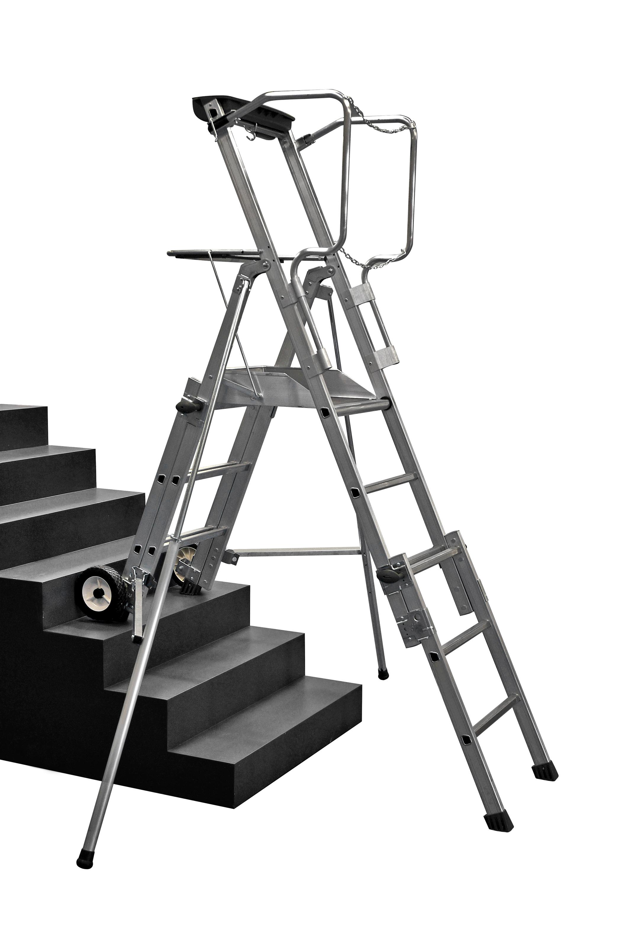 Adjustable Height Telescopic Work Platforms Uk