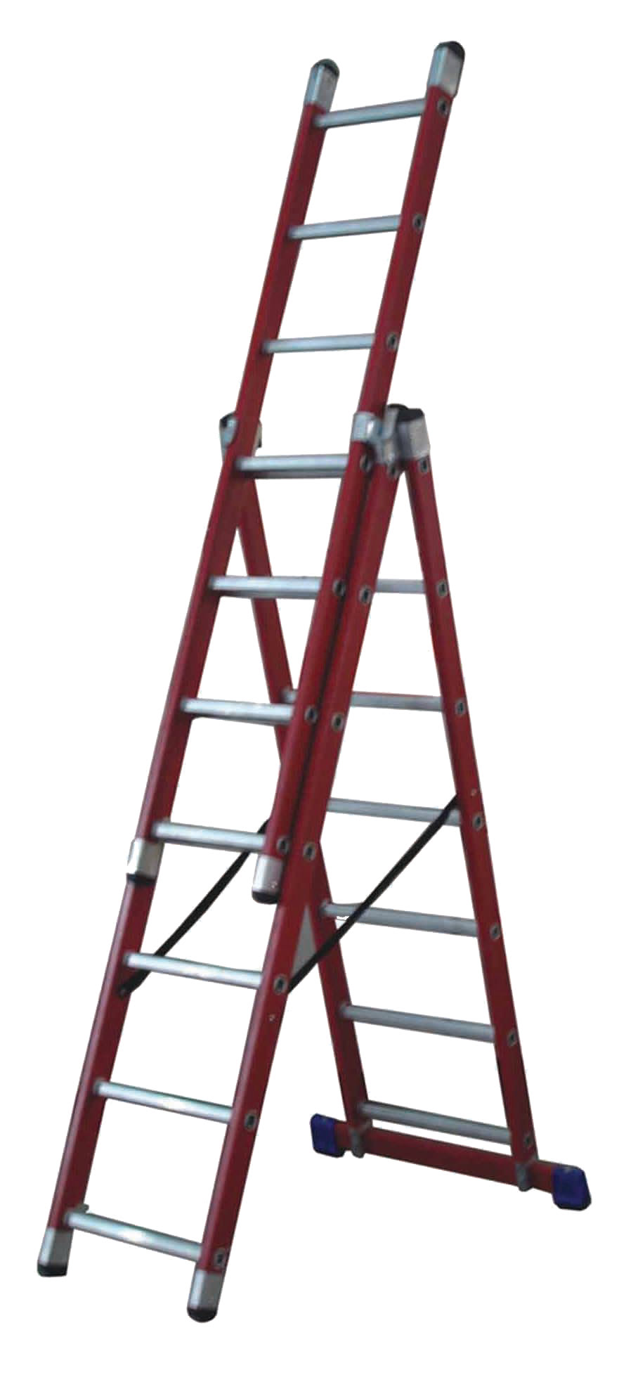 Glass Fibre Ladder Insulated To 10 000 Volts Uk