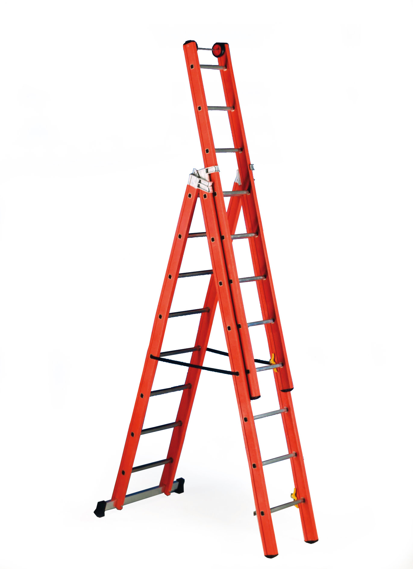 V3 Glass Fibre Ladder Insulated To 100 000 Volts Uk