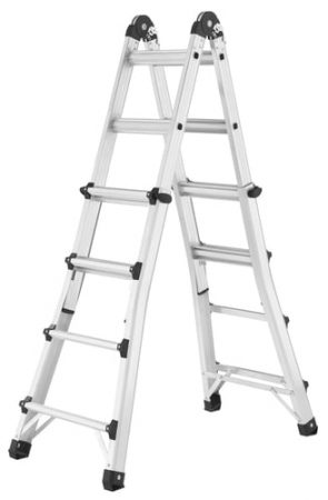 Ladder On Stairs