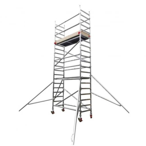Using a Scaffold Tower